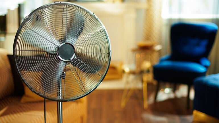 come rinfrescare casa ventilatore